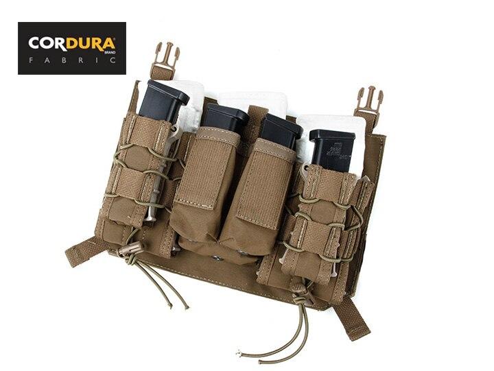 TMC Front Assaulters Panel Pouch Für 4019 4020 Coyote Braun Assault Panel Pouch(SKU050964)