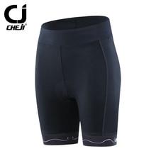 CHEJI Women Outdoor Sport Shorts Mountain Road Bicycle Short Pants Cheji MTB 3D Padded Tights Bicycle Culotte Cycling Shorts