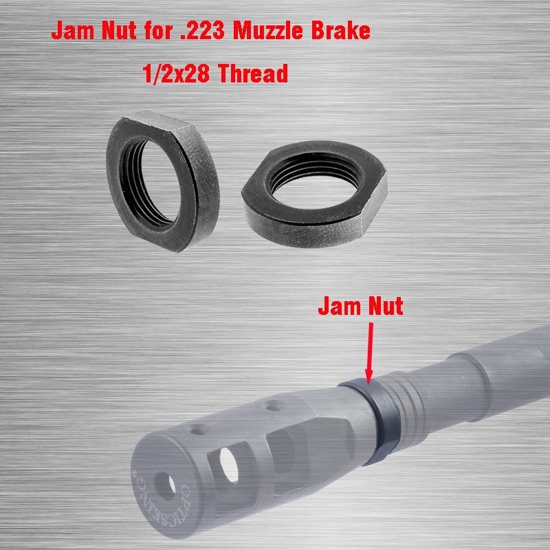 2 шт., замок для намордника/гайка для варенья 1/2x28, предназначен для многократного использования, гаечный ключ для AR-15, гайка для намордника 10/22