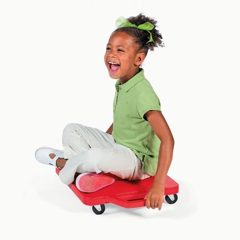 [Divertido] monopatín de cuatro ruedas de vitalidad para niños, monopatín interactivo al aire libre, juego de entrenamiento, juego deportivo, coche deslizante de equilibrio