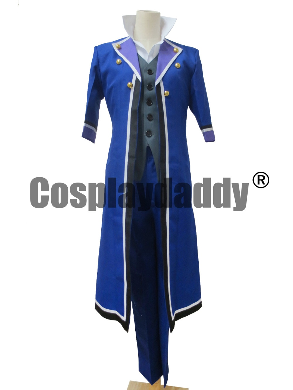 Anime japonés K Project Saruhiko Fushimi Cosplay disfraces nuevo traje
