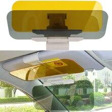 Araba Güneşlik Anti-Glare Gözlüğü 2 in 1 Otomatik Gündüz gece görüş gözlüğü Ayna güneşlikler Gözlüğü Güneşlik Aynalar