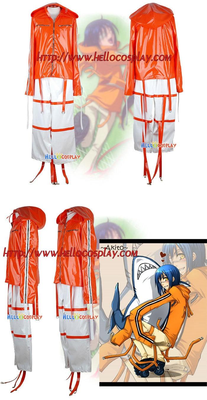 Disfraz de Cosplay de equipo aéreo Akito/Agito H008