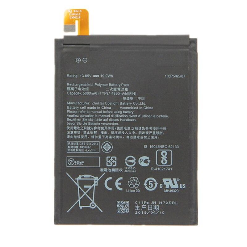 """Wisecoco novo original 5000 mah c11p1612 bateria para asus zenfone 4 max pro plus zc554kl x00id 5.5 """"celular"""