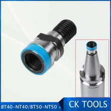 NT40 DIN2080 Pull stud BT40-NT40 BT50-NT50 converter , BT40 BT50 holder is converted into NT40 holder, M16 M24 drawbar thread