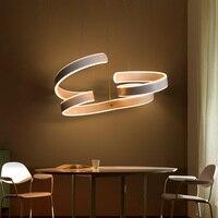 Modern Led Chandelier For Living Dining Kitchen Room lampadari moderni a sospensione AC85-265V Hanging Pendant Chandelier Lights