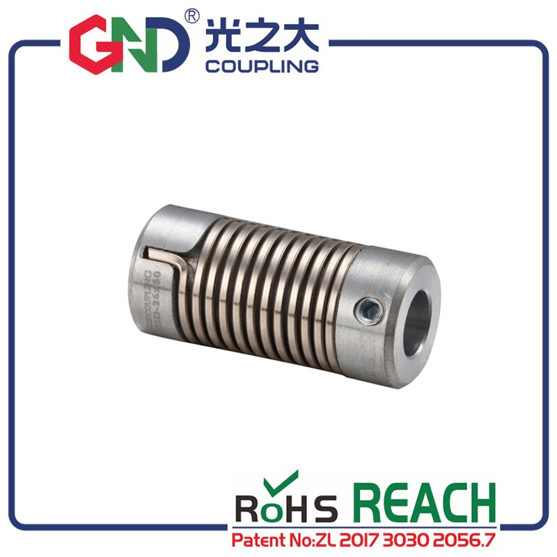 Гибкий вал муфта GND цинковый сплав энкодер D16 L27 пружинный зажим для 3D печати муфта подходит для микро-двигателя, CNC не челюсти