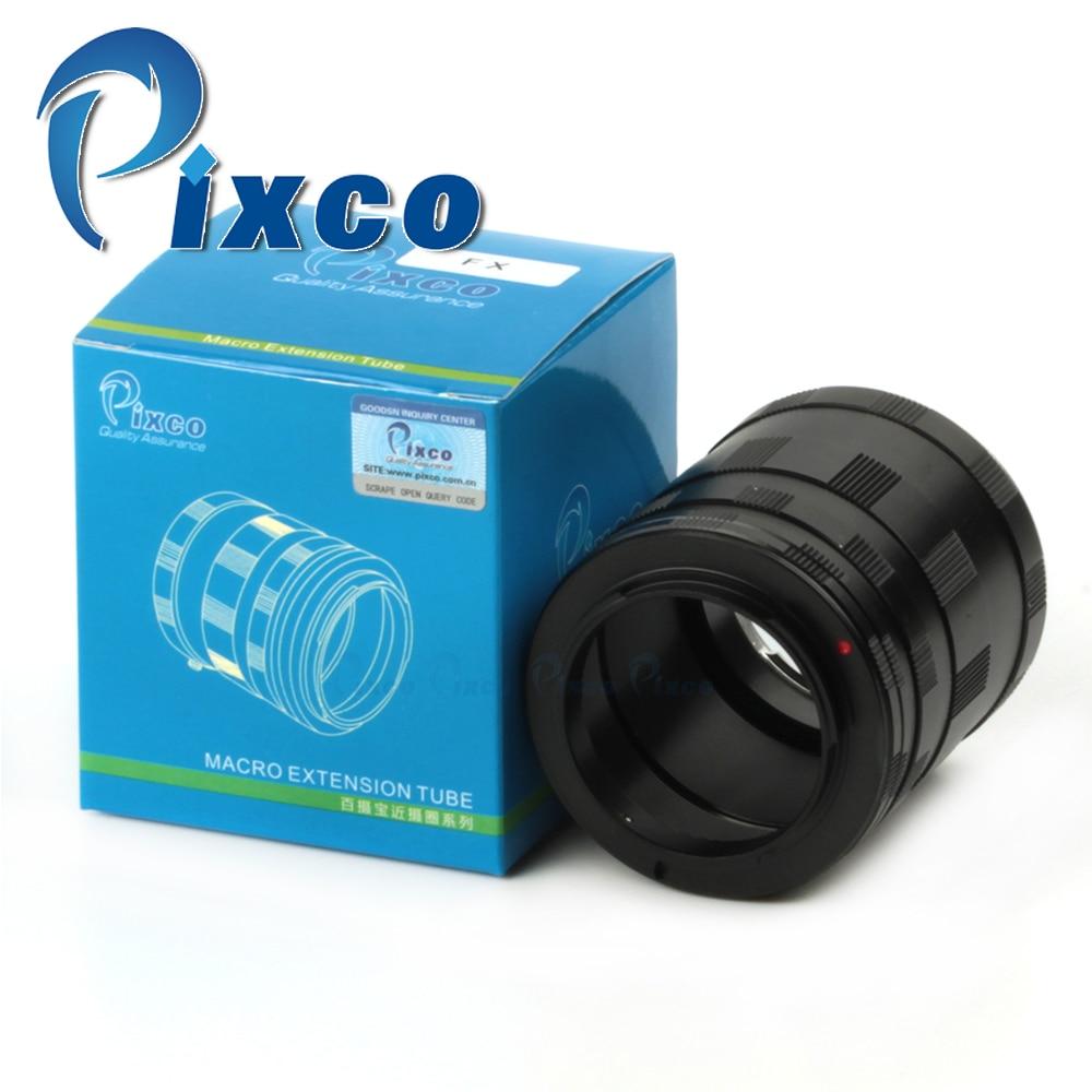 Macro Lens Extension Tube Adapter Ring Set For Fujifilm X-Pro1 X-E1 X-E2 X-M1 X-A1