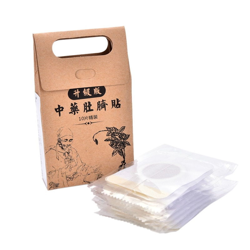 10pcs/set Slimming patch thin paste stickers skinny stovepipe skinny waist belly fat Slim patch medicine slimming diet products