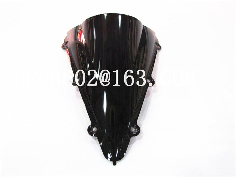 ¡Producto en oferta! parabrisas negro de doble burbuja YZF R1 1000 2004 2005 2006 de Yamaha yzf r1 04 05 06