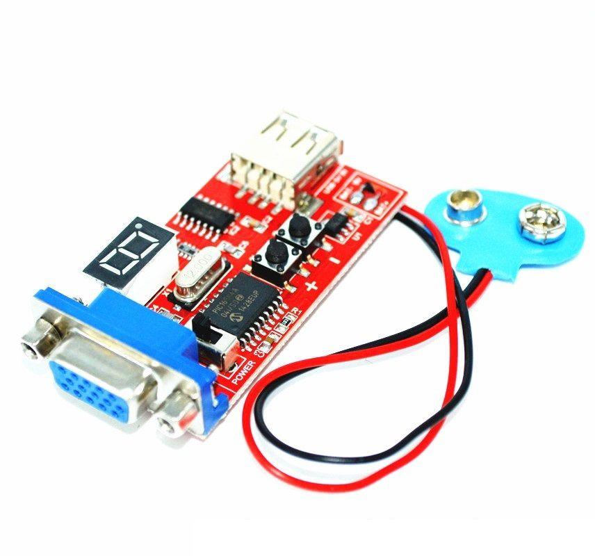 Signal Output VGA Signal Generator LCD Display Tester DC&USB Power Supply NEW