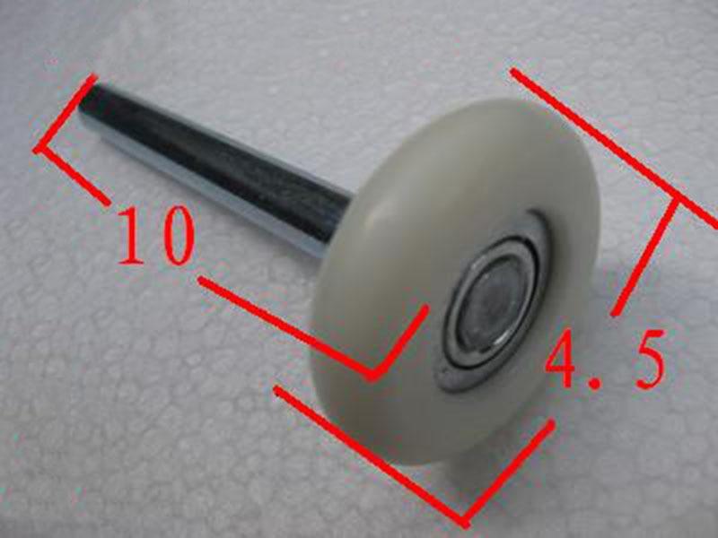Бесплатная доставка шкив гаражной двери колеса нейлоновые колеса шкив 10*1 см KF652