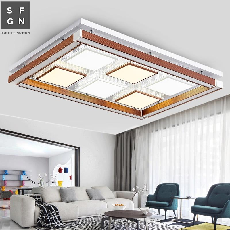 Luz de techo led lámparas modernas accesorio de iluminación de sala de estar superficie de estudio de comedor