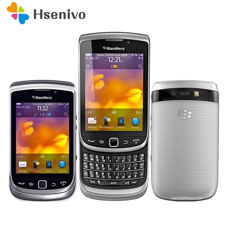 BlackBerry Torch 9810 Refurbished- Original BlackBerry 9810 Smartphone Unlocked 3G Wifi Bluetooth GPS 8GB Storage Cellphone