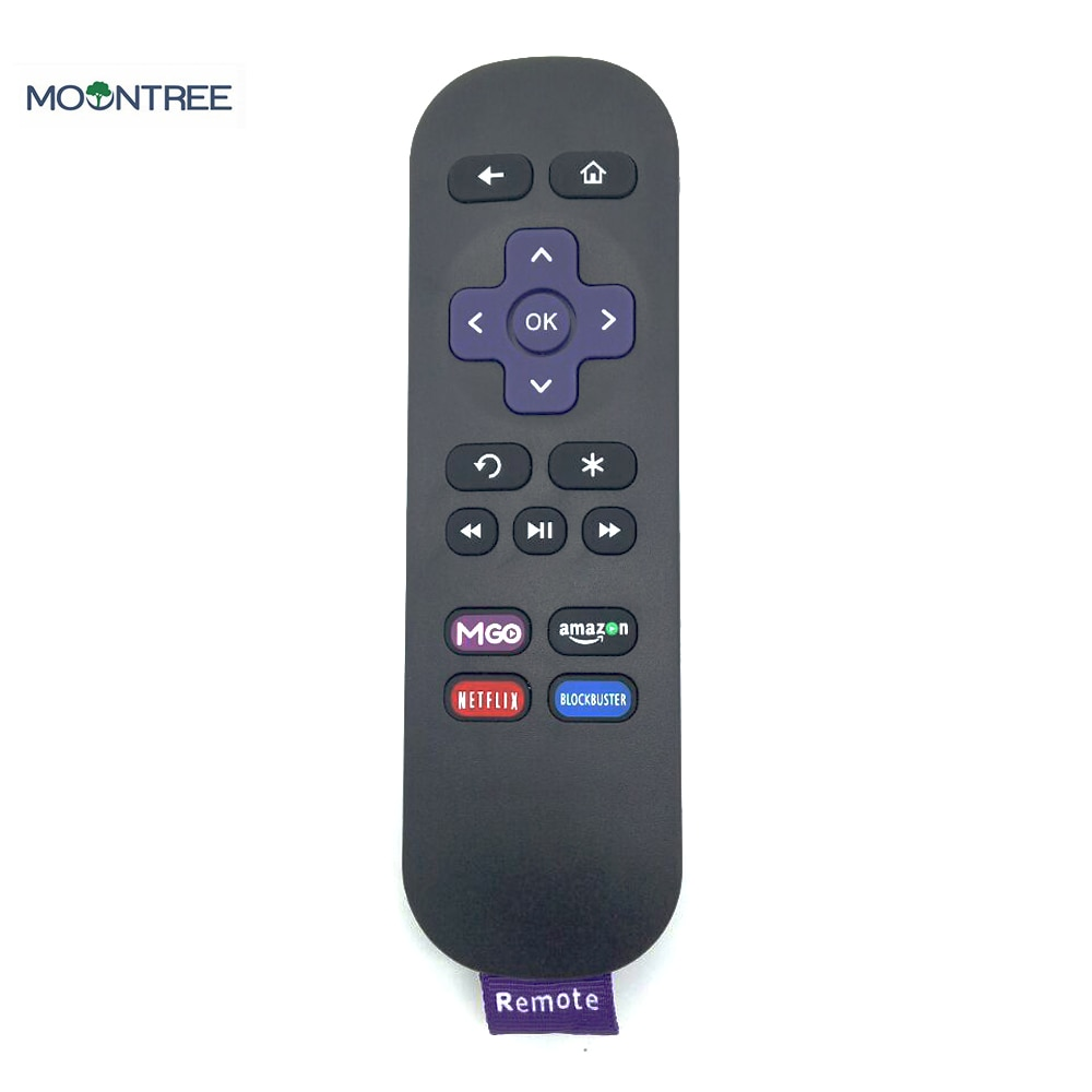 NEW Replacement Remote Control For Roku IR Streaming Media Player LT HD XD XS MGO NETFLIX Amazon BLOCKBUSTER