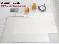 xintai touch 21 5 inch capacitive touch foil 10 points holographic foil transparent interactive usb touch film touch screen film