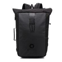 OZUKO Multifunctional Backpack For Men Large Capacity Waterproof Oxford Cloth Laptop Backpack Casual School Bag for Teenager