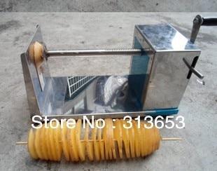 new arrival stainless steel potato slicer,potato machine, fruit cutter /vegetable cutter( sauce bottle free)/ free shipping