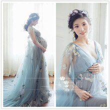 Maternity Photography Props Pregnancy Dress Photography Maternity Dresses For Photo Shoot Pregnant Women Vestido Gravidas Clothe