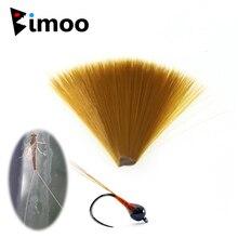 Bimoo diamètre fin en Nylon brun conique mouche flottante attachant la queue de Mayfly fibre Perdigon nymphe queues mouche attachant le matériel