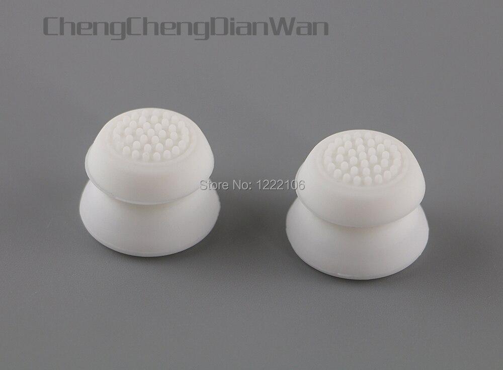 50 Uds 200 Uds. Agarres analógicos de silicona palos de pulgar Extra cubierta de altas mejoras para ps3 ps4 xbox360