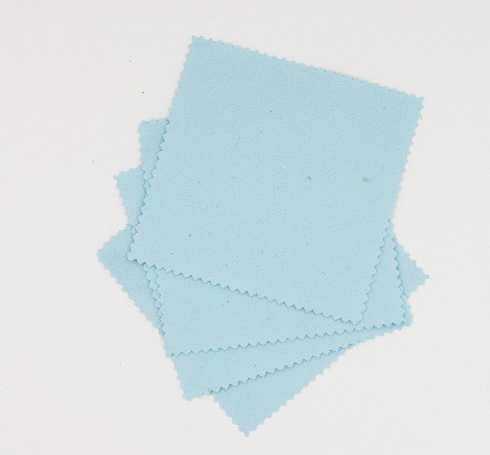 Tela de aplicación de recubrimiento de vidrio, tela de agente de revestimiento de cristal, paño de microfibra, paño de gamuza nano para coche (10 Uds./color Lblue)