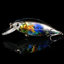 Воблеры Crankbait, 1 шт., жесткие рыболовные снасти 13 г 7 см, приманка для плавания, воблер, бас, рыболовные приманки, 5 видов цветов рыболовные снасти
