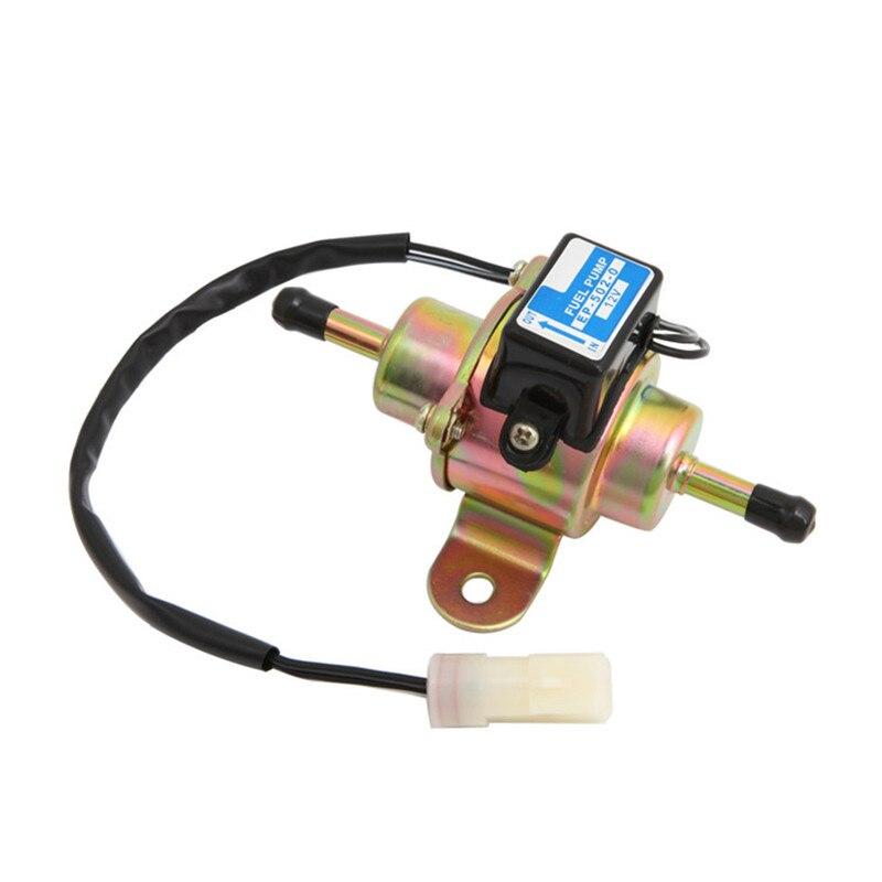 Carprie bomba de combustível 12v universal de baixa pressão diesel bomba de combustível elétrica substituir EP-500-0 3-5psi bomba de alimentação de combustível m31