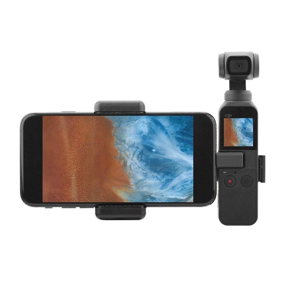 Подставка для смартфона, держатель для мобильного телефона, металлический зажим для DJI OSMO Pocket PTZ Camera