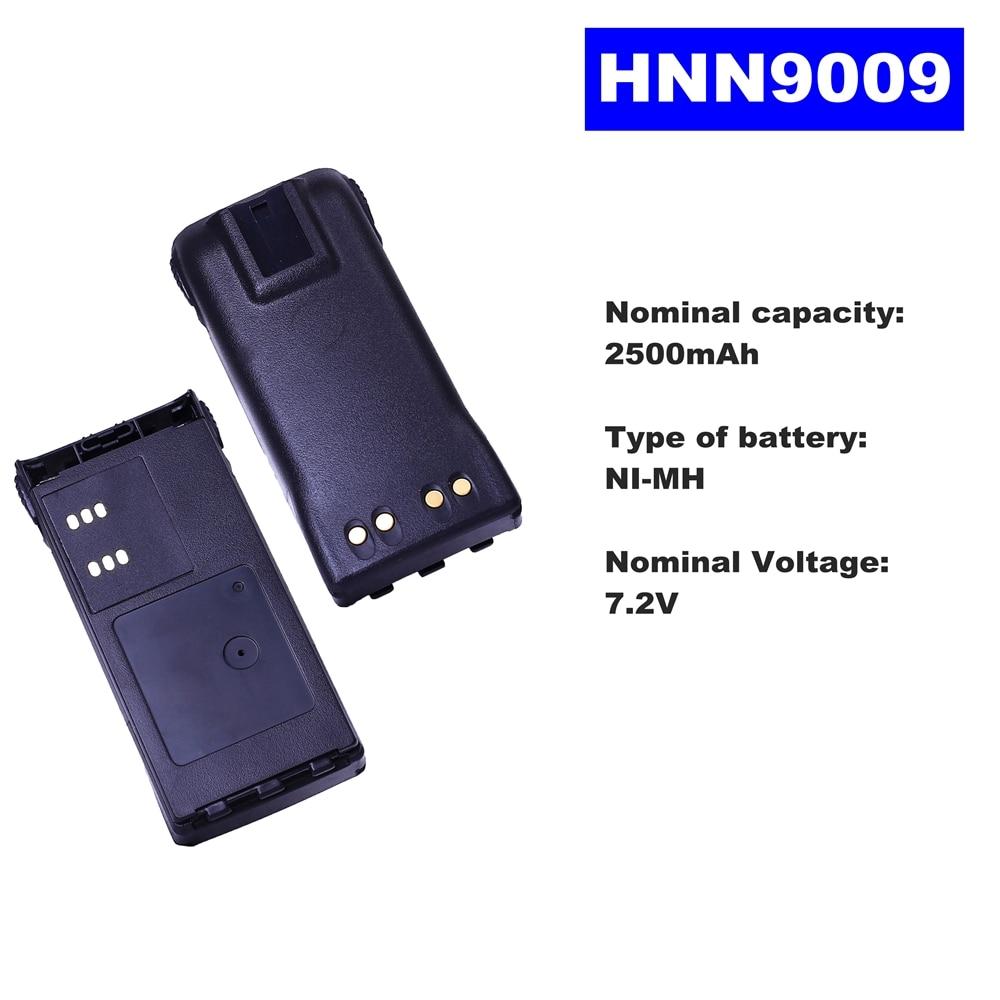7.2V 2500mAh NI-MH Radio Battery HNN9009 For Motorola Walkie Talkie GP320/340/338/360/380 PTX760/960 PRO-5150 Two Way Radio недорого
