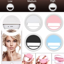 Handy Selfie Ring Licht LED fotografische Beleuchtung für Xiaomi iPhone Sumsang Smartphone