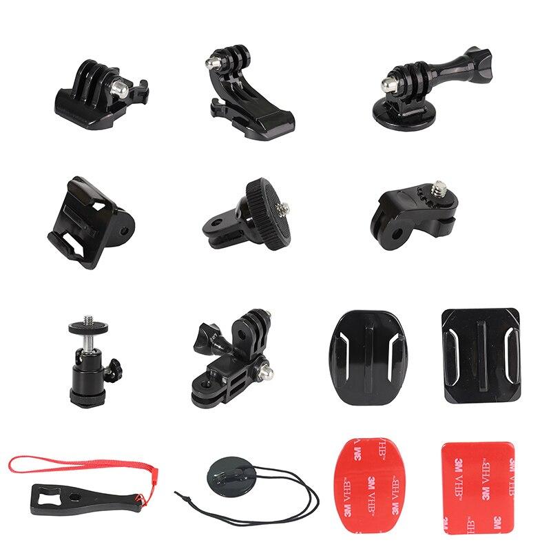 For GoPro SJCAM Sj4000 EKEN H9 Xiaomi Yi Xiaoyi 4K SONY DJI OSMO Action Camera Accessories Set Go pro Hero 8 7 6 5 4 Session Kit
