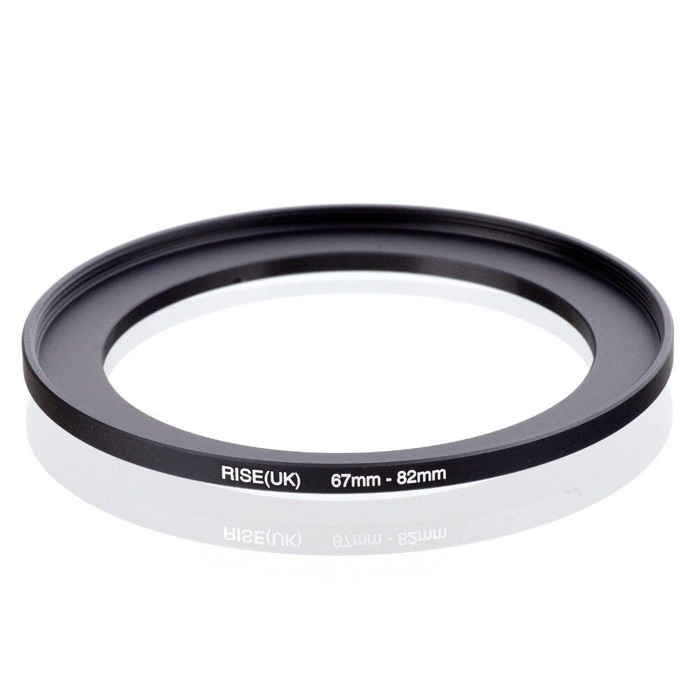 Original aumento (Reino Unido) 67mm-82mm 67-82mm 67 82 paso anillo adaptador para filtros negro