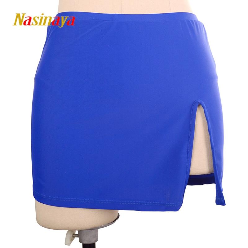Vestido de Patinaje artístico Nasinaya, falda de Patinaje de competición de hielo personalizada para niñas, mujeres, niños, Patinaje, gimnasia, rendimiento 8
