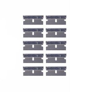 Image 5 - EHDIS бритвы скребок с 10 шт. Сталь лезвия Ножи тонировка Инструменты Авто Стикеры Ракель Виниловая Пленка Клей скребок для удаления тонировка для авто