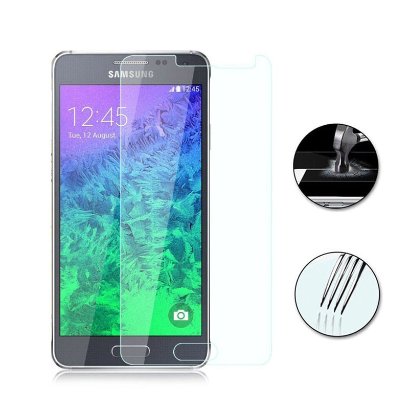 5 шт. 2.5D Закаленное стекло для Samsung GALAXY Alpha G850 G850F G8508 G8508S G8509 Защитная пленка для экрана