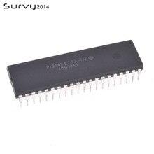 1 stücke IC PIC 16F877A PIC16F877A-I/P und DIP40 PIC16F877A PIC16F877 16F877A-I/P MICROCHIP Mikrocontroller