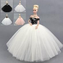Fashion Doll Dress Costume Elegant Lady Wedding Dress For Barbie Doll Dress Clothes For 1/6 BJD Doll Dresses Gift Toy
