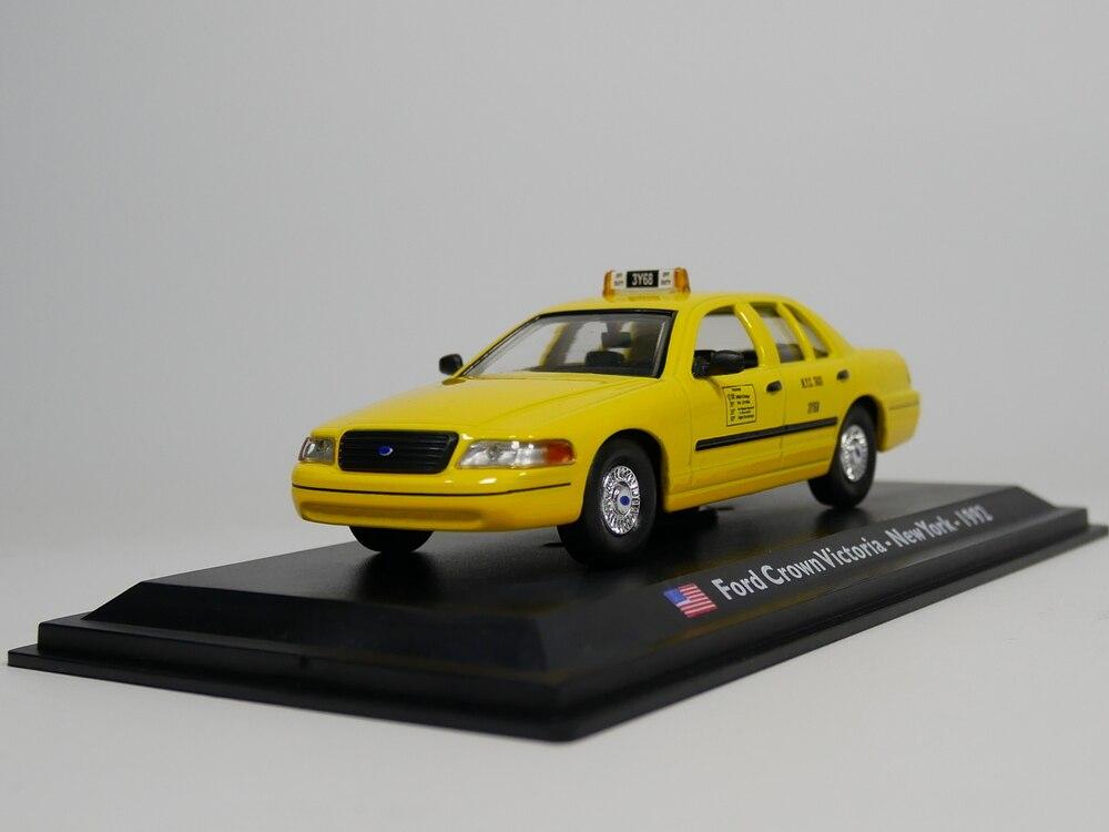 Modelo leo 143, Ford Crown, Victoria, New York, taxi 1992, ee.uu., modelo de coche fundido a presión