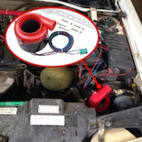 Universal Car Fake Dump Valve Electronic Turbo Blow Off Valve BOV Analog Sound