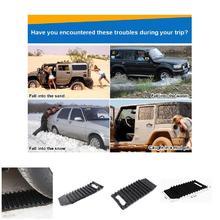 Pelle à neige de secours de roue de Traction de tapis antidérapant de pneu de voiture pour des véhicules Auto NJ88