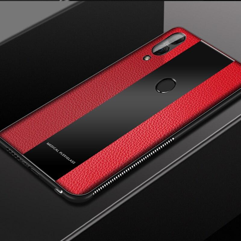 BONVAN de lujo de piel de silicona blanda de TPU para Huawei Nova 3i 3 2S 2i 2 Plus G9 más Coque