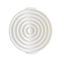 Silicone cake mold white circle decoration mold DIY baking mould