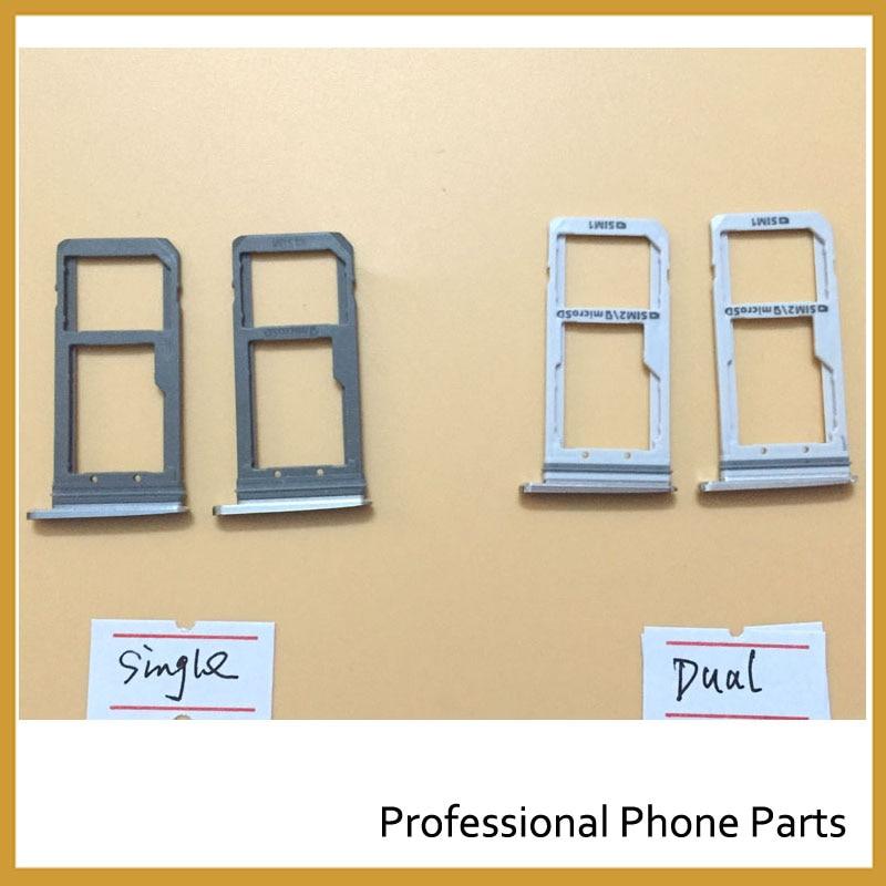 3 Color Dual/Single Sim Tray For Samsung Galaxy S7 G930 G930F SIM Card Tray Slot Holder High Quality