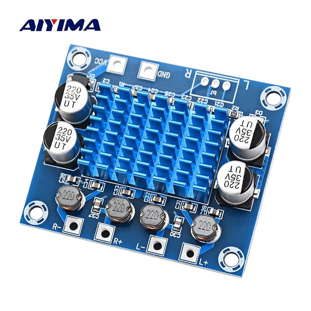 AIYIMA Digital Mini placa amplificadora de potencia 30W * 2 estéreo Amplificador de Audio 2,0 Amplificador DIY teatro DC8-26V