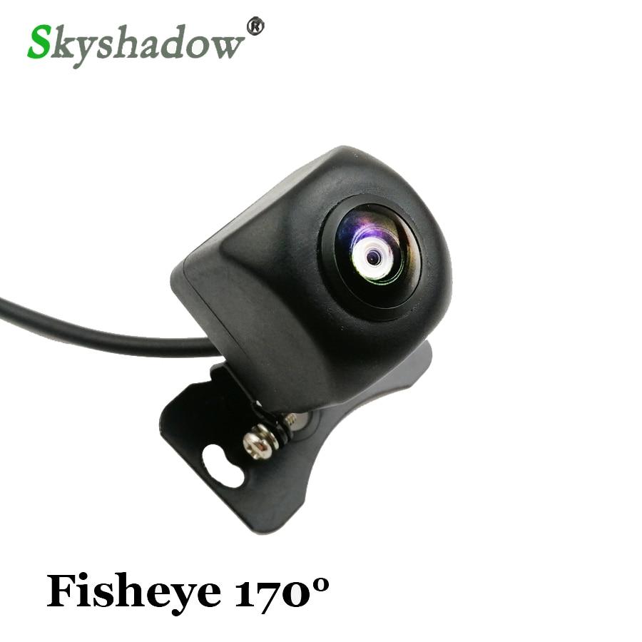 1280*720P impermeable HD 170 grados Sony ojo de pez lente Starlight visión nocturna coche marcha atrás cámara de visión trasera aparcamiento
