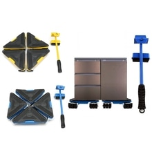 Meubles lourds lève-personne Triangle roues curseurs Table canapé appareil ménager chariot à la maison ascenseur ensemble de Transport