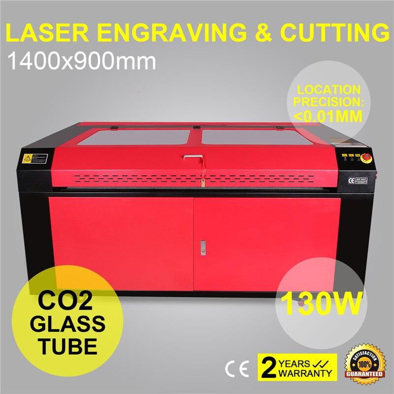 130W alta precisión CO2 láser máquina cortadora de grabado cortador de grabado 1400X900MM