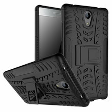 Neue Kick Phone Case für Lenovo Phab 2 Fall 6,4 inch Abdeckung Silikon-plastik Rüstung Stoßfest Rückenprotektor Fall
