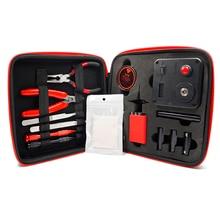 Mise à jour bobine Master V3 kit de bricolage tout-en-un CoilMaster V3 + Cigarette électronique RDA atomiseur bobine sac à outils accessoires Vape vaper 5
